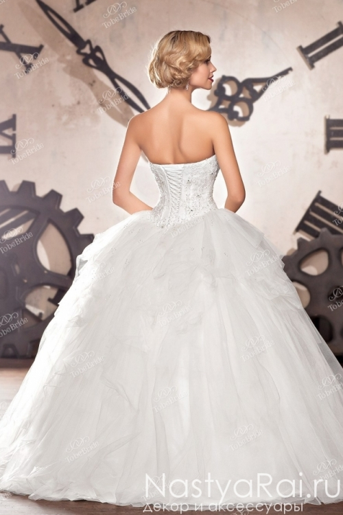 Пышное свадебное платье C0078
