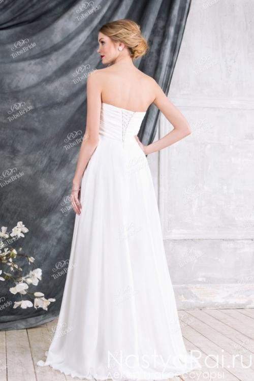 Свадебное платье с высокой талией EM005