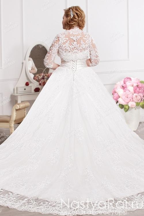 Свадебное платье с болеро ED001