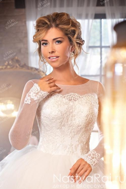 Свадебное платье с корсетом NW005