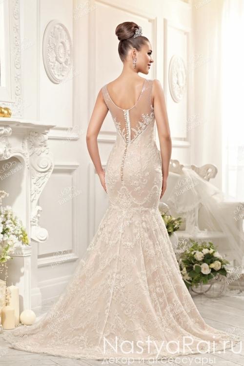 Свадебное платье фасона русалка EV016