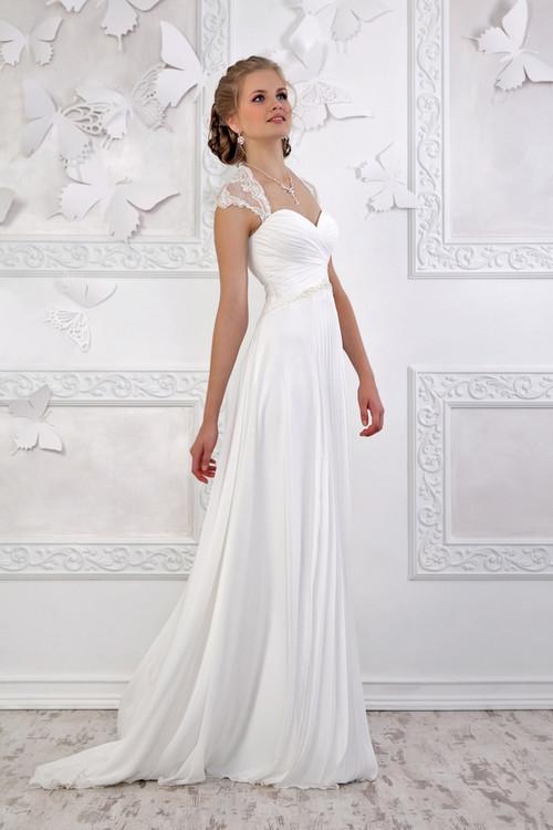 Свадебные платья в греческом стиле / ампир