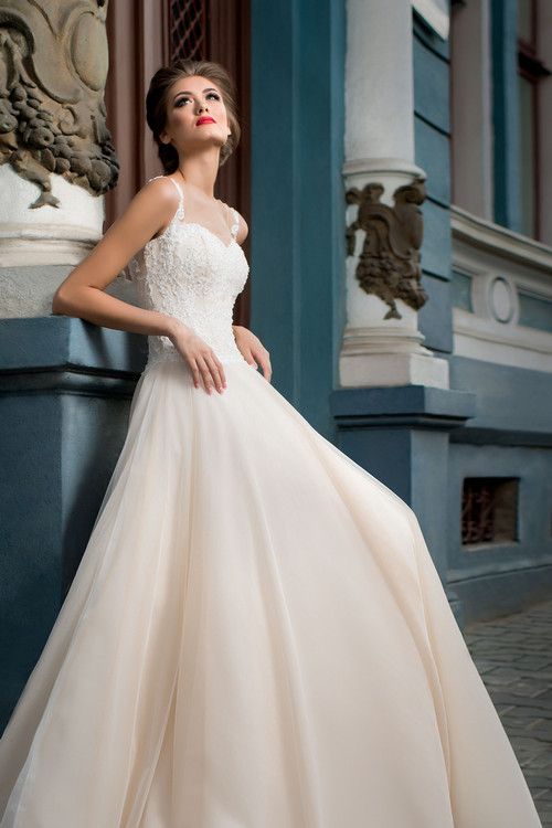 Свадебные платья с корсетом