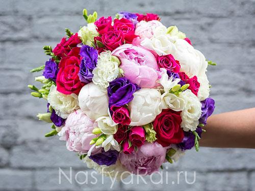 Недорогой свадебный букет невесты традиции #13
