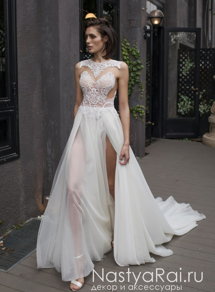 966cbc9e7a5 Фото. Свадебное платье с жемчугом RIKI DALAL RD-206.